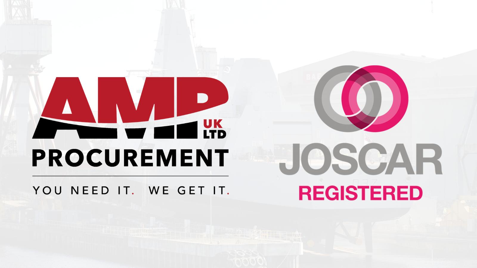 AMP Procurement Receive JOSCAR Accreditation